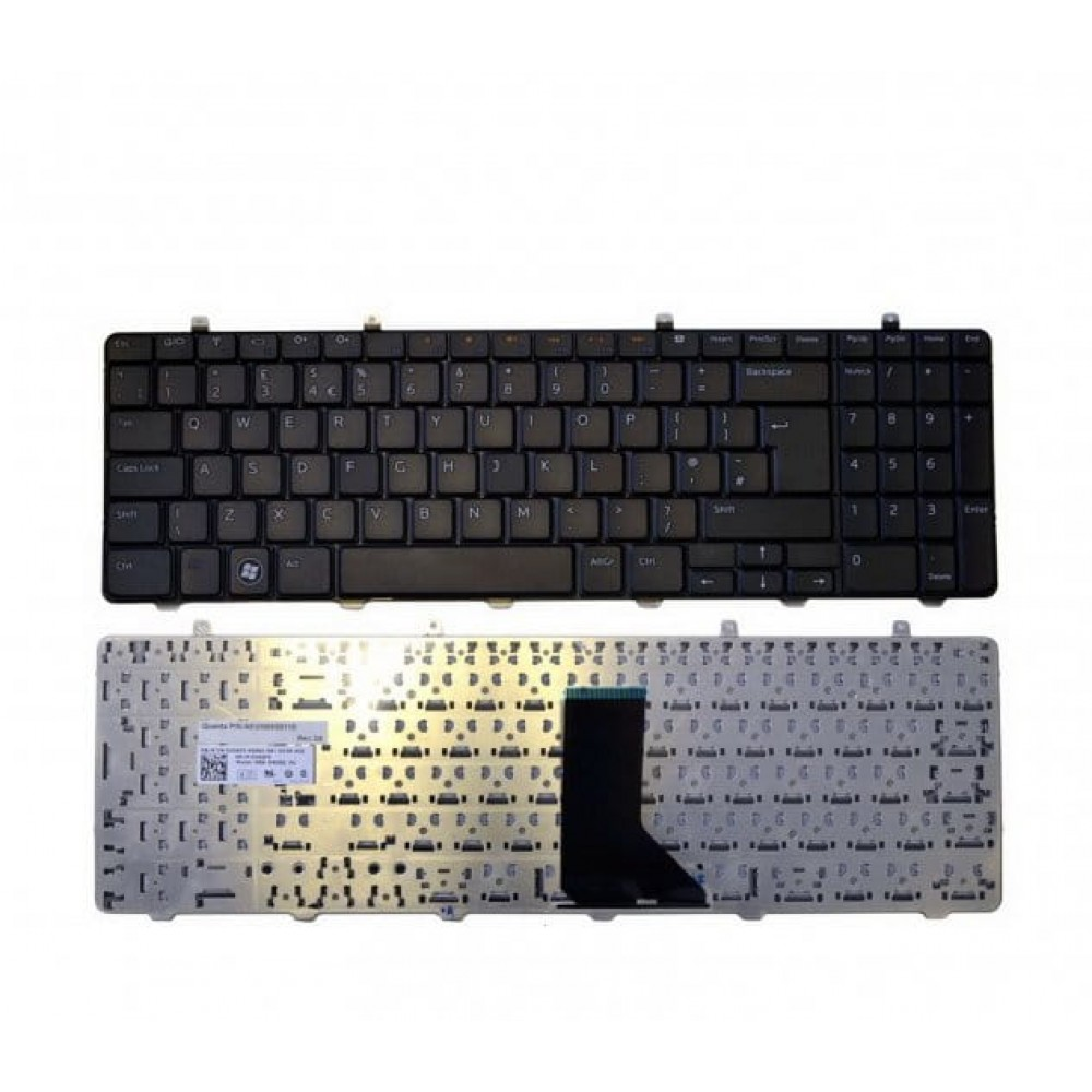 New Genuine Dell Inspiron 1564 Black UK Keyboard