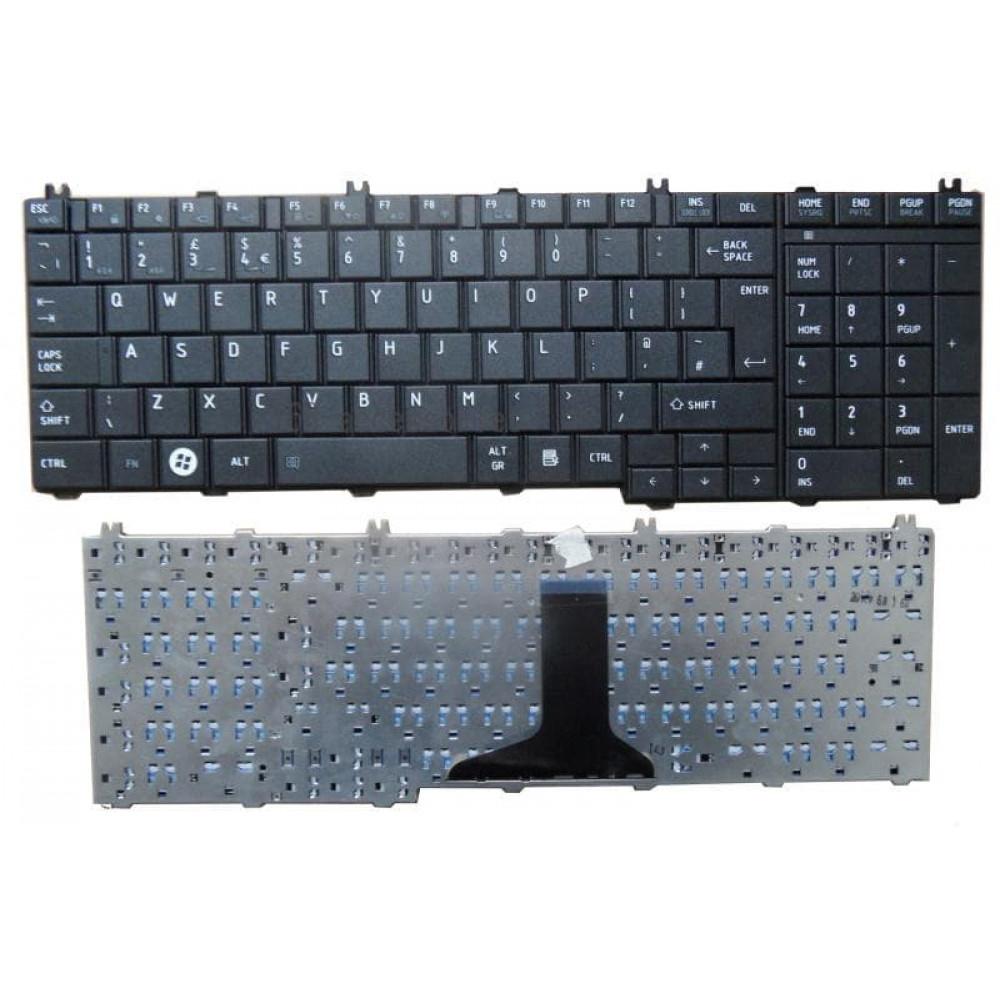 Toshiba Satellite C650 C660 C660D UK Laptop Keyboard