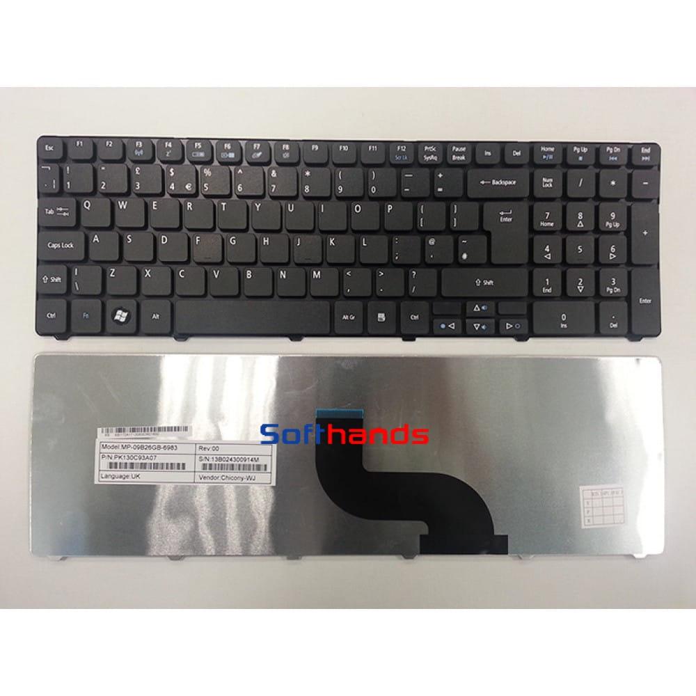 Acer Aspire Timeline 5750 5750G 7750 7750G UK Keyboard