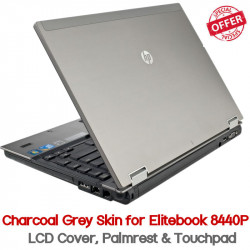 HP Elitebook 8440p Charcoal Grey Skin