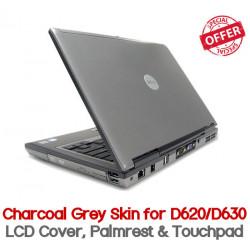 Dell Latitude D620 D630 Charcoal Grey Skin