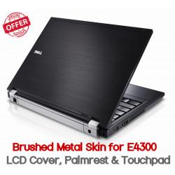 Dell Latitude E4300 Brushed Metal Skins