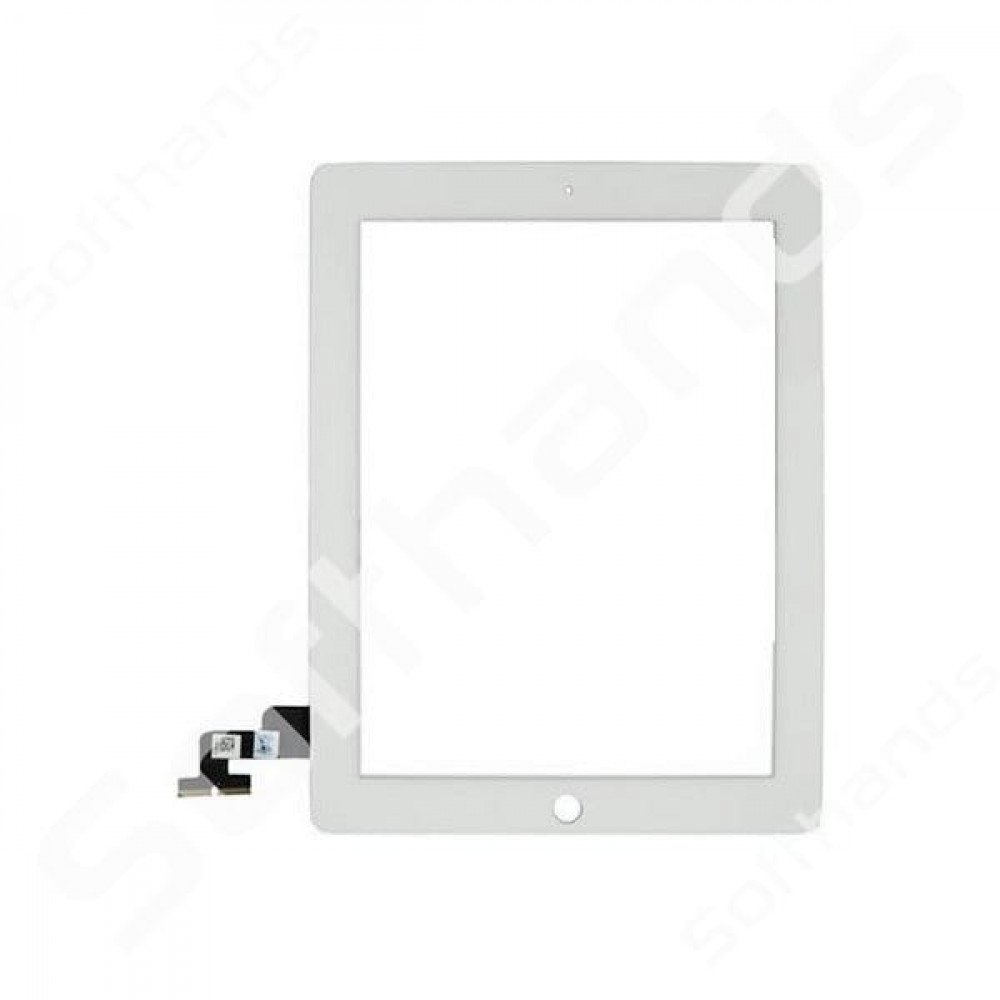 iPAD 2 White Glass Digitizer Replacement High Quality