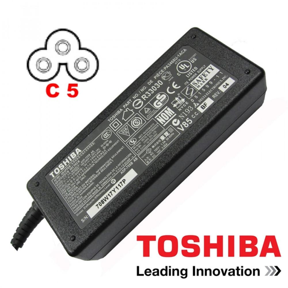Genuine Toshiba 19V 3.95A 75W Charger