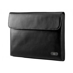 "HP 14"" Ultrabook Leather Sleeve"