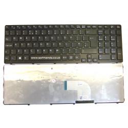 Sony Vaio SVE15 Black UK Replacement Laptop Keyboard